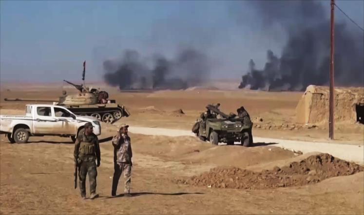 الحشد يشارك في تحرير تلعفر ويقتل افراد داعش