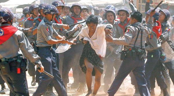 انتهاك حقوق الانسان ضد المسلمين في ميانمار
