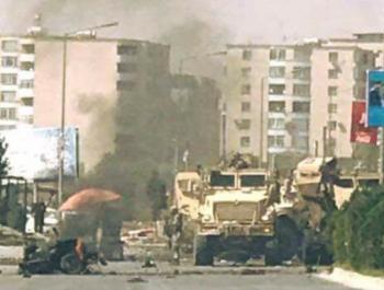 انفجار انتحاري يستهدق قوات الناتو في كابل