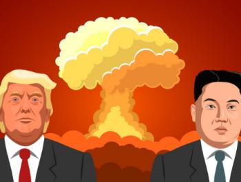تهديد نووي متبادل بين امريكا وكوريا الشمالية