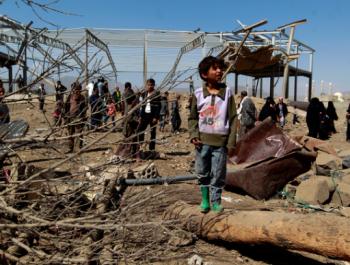 قنابل امريكا هي من قتلت المدنيين في اليمن