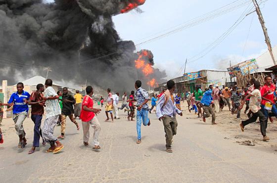 276 قتيل واكثر من 300 جريح في انفجار الصومال