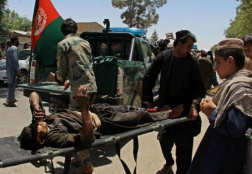 انفجار داخل فندق في ولاية تخار افغانستان