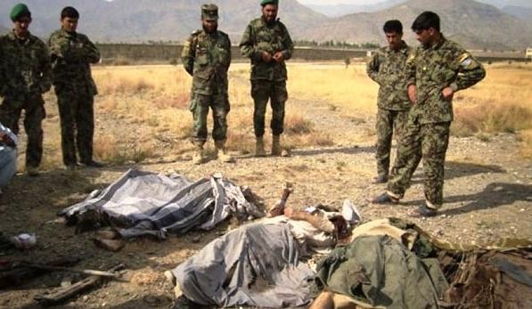 الامن يقتل اكثر 400 من مسلحي طالبان افغانستان