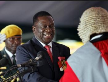 تعيين نائب الرئيس رئيس في زيمبابوي
