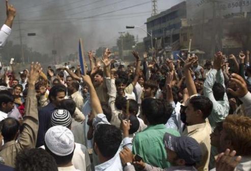 مظاهرات لبيك يا رسول الله تشل الحكومة في باكستان