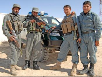 مقتل 6 مسلحين بعد اشتباك مسلح غزني أفغانستان