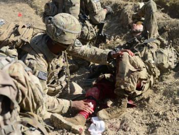 جرح 4 من جنود امريكا في انفجار قندهار أفغانستان