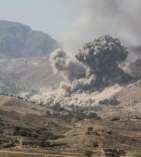 امريكا اسقطت 3554 قنبلة خلال 2017 في أفغانستان