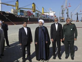 ايران : ميناء تشابهار طريق النقل الى أفغانستان