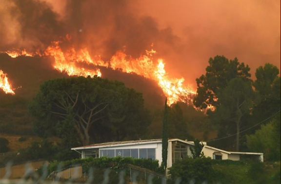 امريكا : حرائق تلتهم الفخامة في لوس أنجلس