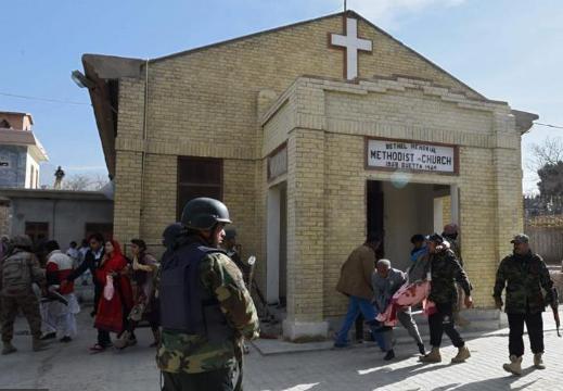 داعش يتبنى هجوم الكنيسة في كويتا باكستان