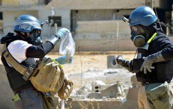 مراجعة آلية التحقيق في كيميائي سوريا