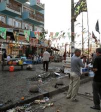 عشرات القتلى والجرحى في انفجار مزدوج وسط بغداد