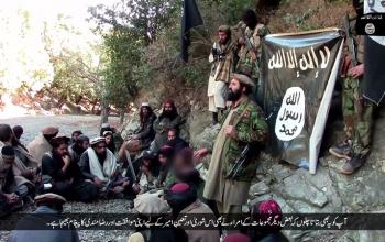 عدد عناصر داعش في أفغانستان