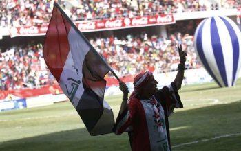 رفع الحظر على كرة القدم الدولي في العراق