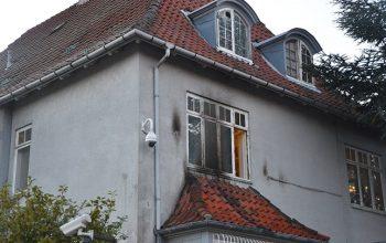 هجوم بالمولوتوف على سفارة تركيا في الدنمارك