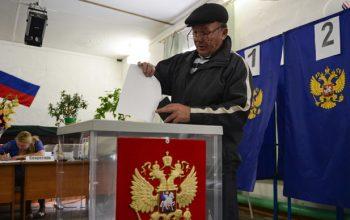فتح باب الأنتخابات الرئاسية في روسيا