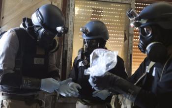 العثور على مصنع الأسلحة الكيميائية في الغوطة الشرقية