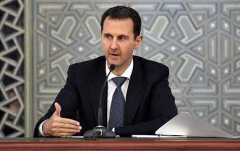 الأسد: امريكا وحلفائها يريدون تقسيم المنطقة