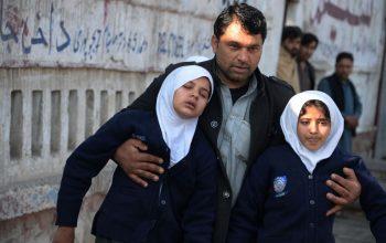 تسمم 15 تلميذة في ولاية هلمند أفغانستان