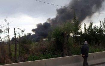 الجزائر: 247 قتيل في حادث تحطم طائرة عسكرية