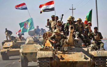 عملية ملاحقة عناصر داعش النائمة في ديالى