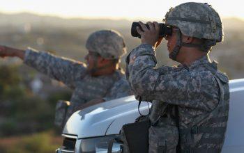 امريكا تنشر الحرس الوطني على حدود المكسيك