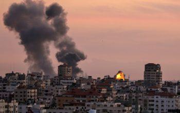 مقتل وجرح مقاوم اثناء القصف على غزة