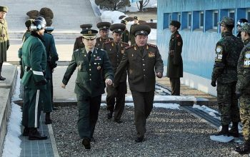 قمة الحدود بين رئيس كوريا الشمالية والجنوبية
