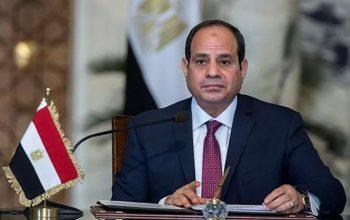 السيسي رئيس مصر لولاية ثانية