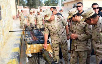 مصر مقتل 14 مسلح و8 جنود في هجوم على سيناء