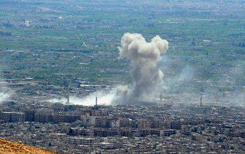 احتلال إسرائيل يقصف المقاومة في غزة