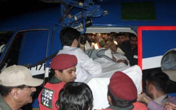 محاولة أغتيال وزير داخلية باكستان