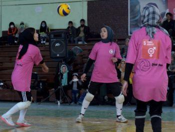 Men Against Women's Sports In Herat