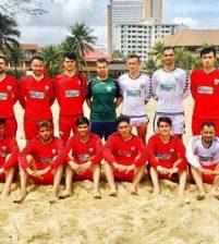 Afghanistan's Beach Players Defeat Malaysia