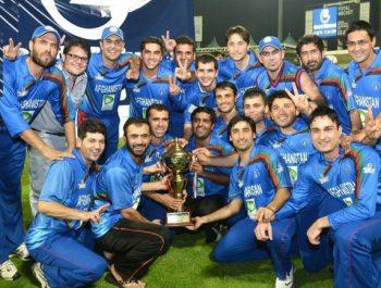 Afghanistan Cricket Team Defeated Ireland