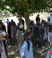 Hundreds of families fled from Taliban danger in Kunduz