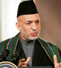 Karzai: terrorism is the result of the policy and action of the United States and its allies