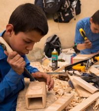 Kids working on Kabul's streets get a second chance at childhood