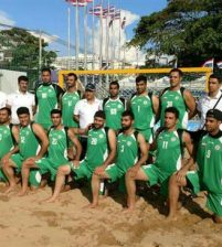Iran routed Afghanistan in Asian Men's Beach Handball Championships