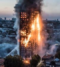 Police confirms 12 dead in London tower block fire