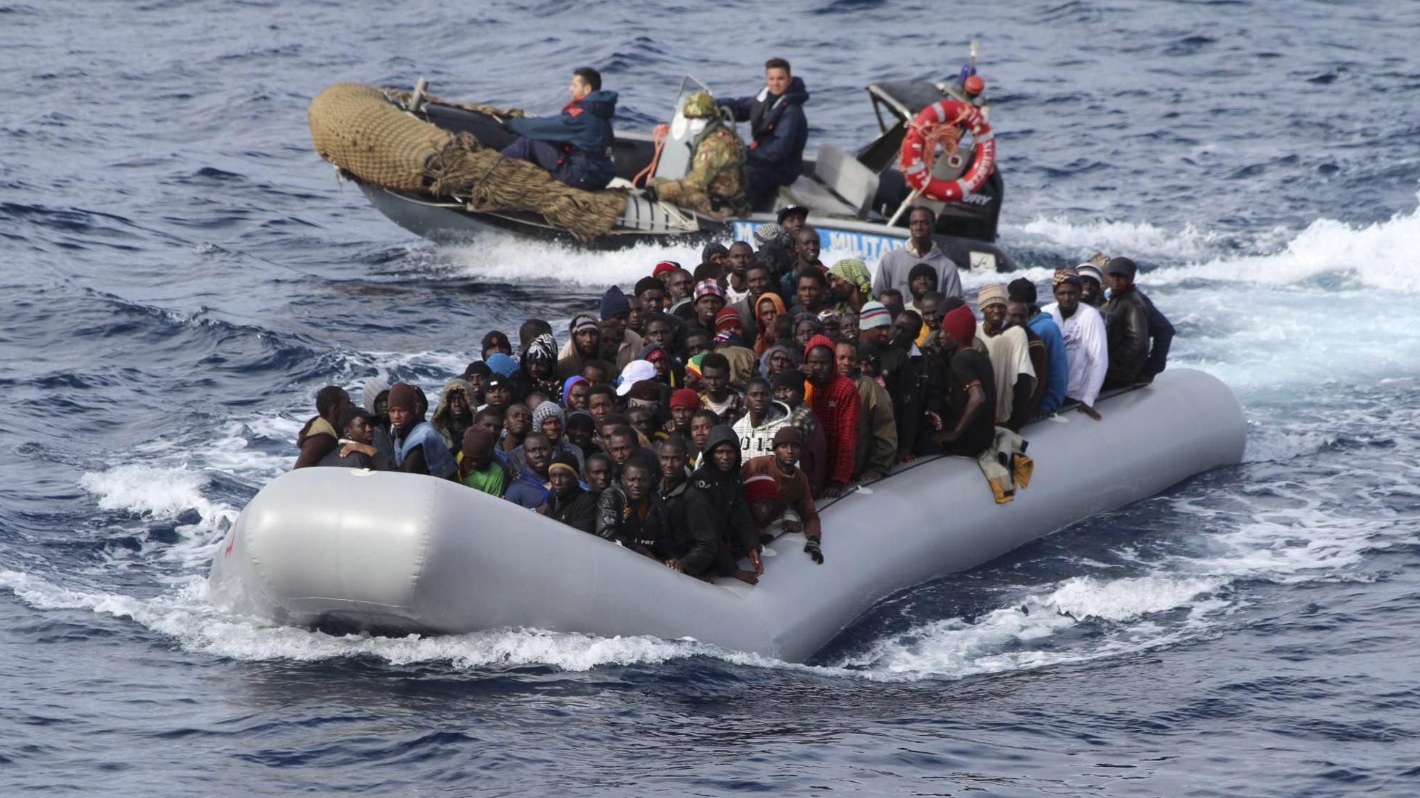 49 African immigrants feared dead after their boat sank in Mediterranean