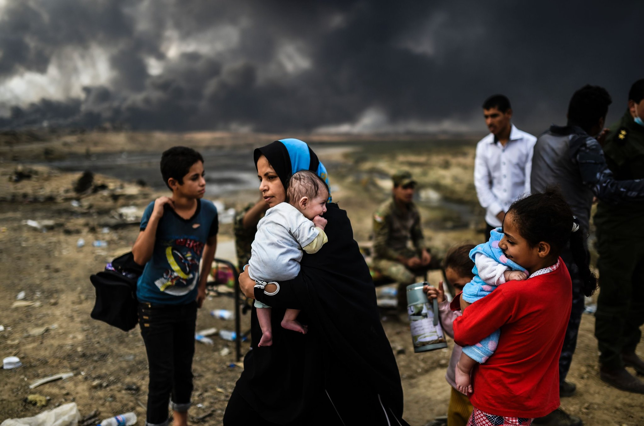 Up to 20,000 civilians trapped in Daesh-held areas of Mosul: UN