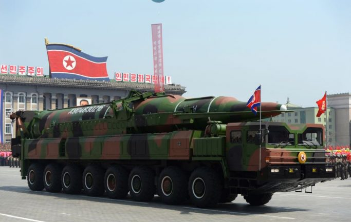 America the only target of North Korean nuclear missiles