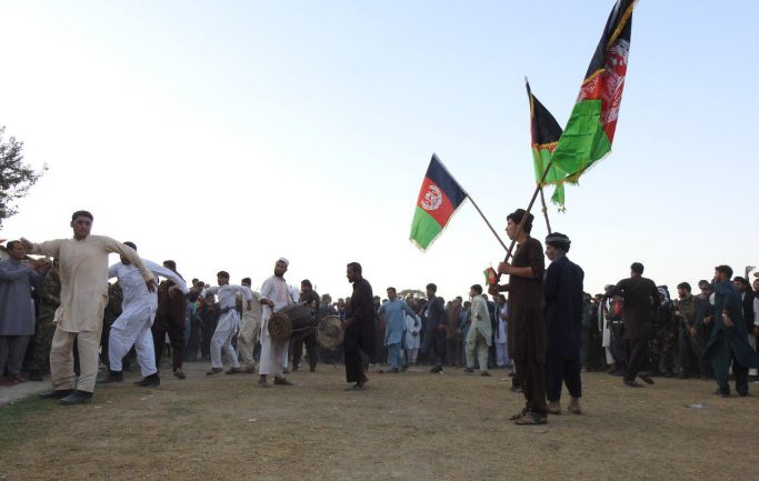 """The """"Independence Day"""" marked in Baghlan/ Women absent!"""