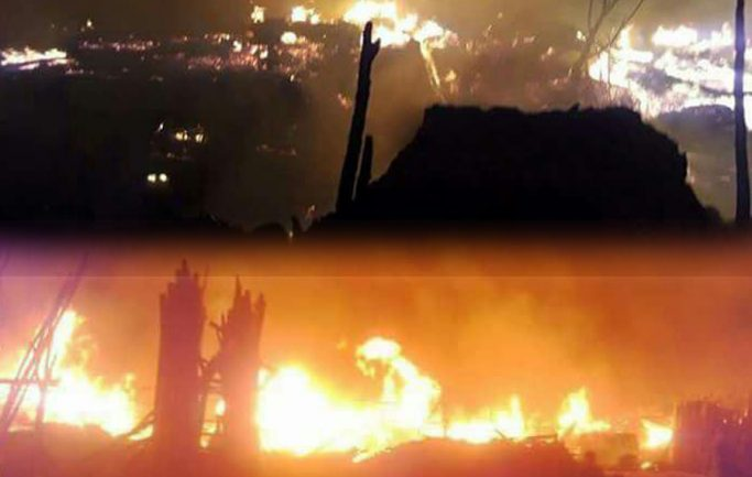 Fire in Ghah`ab city market did millions of financial damage