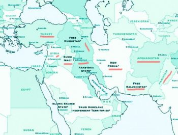 From Kurdistan to Baluchistan and from Afghanistan to Kashmir