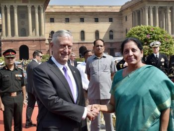 US, India defence secretaries discuss Afghanistan security
