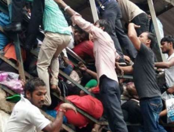 At least 21 killed, 30 injured in Mumbai station stampede amid heavy rain